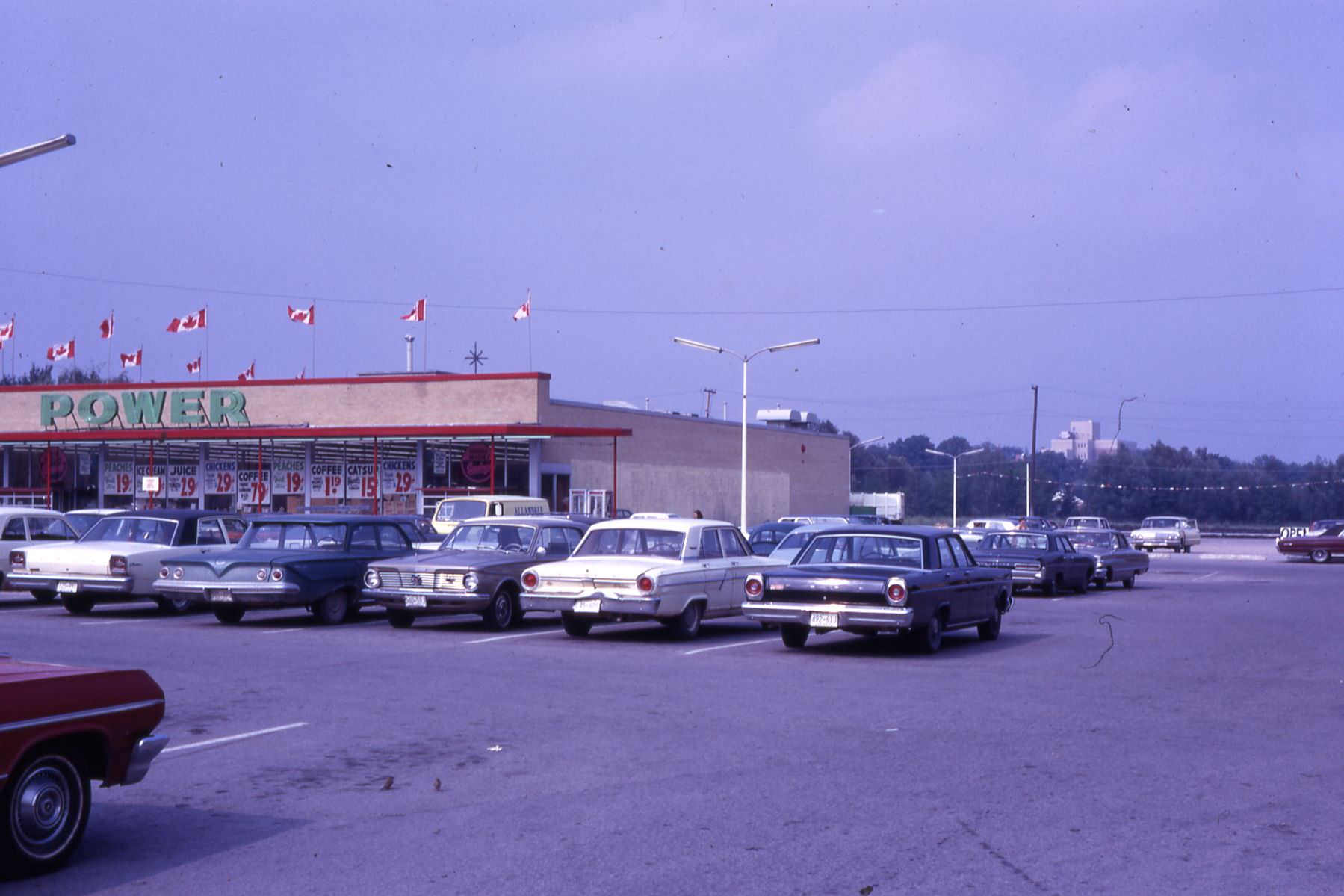 1965-c-Downtown-Power store in Wellington Plaza